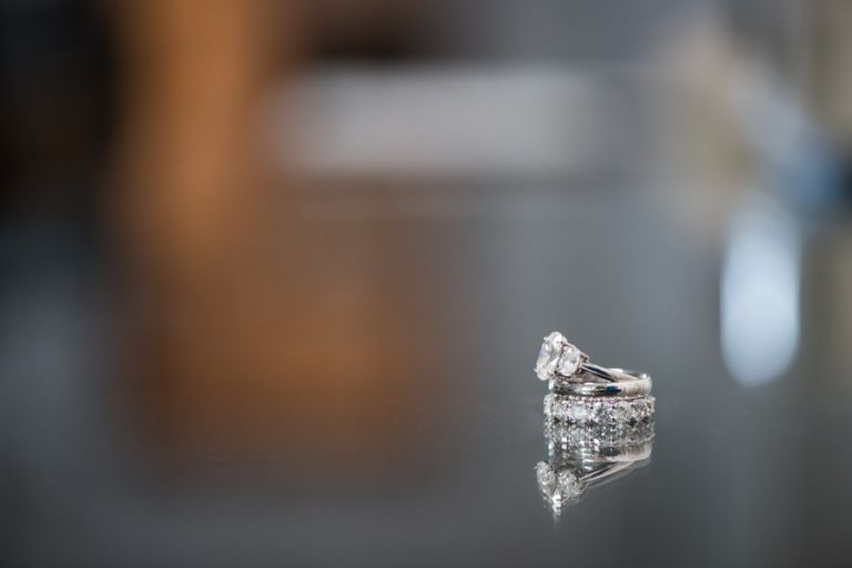 Lauren and Justin's rings for their wedding day at the CuisinArt Resort & Spa in Anguilla. Captured by Caribbean destination wedding photographer Ben Lau.