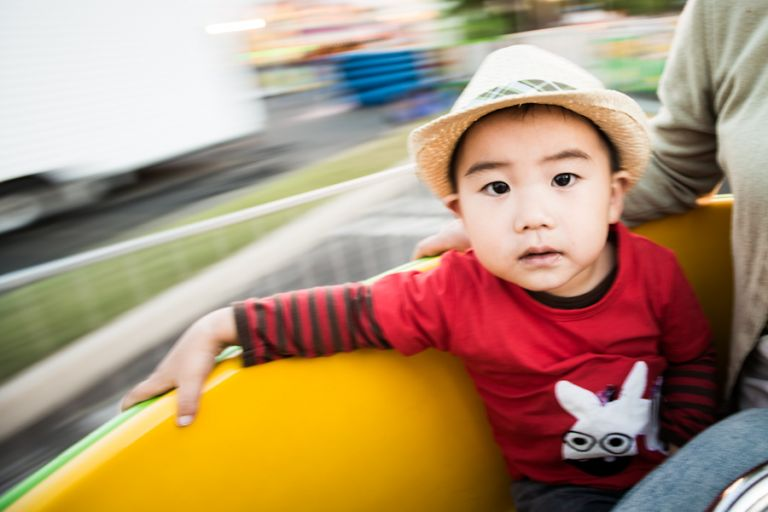 Lil Monster visits the Carnival. Captured by Ben Lau Photography.