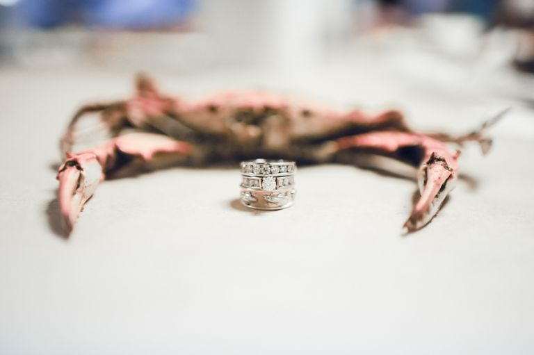 Maryland Crab with Wedding Rings