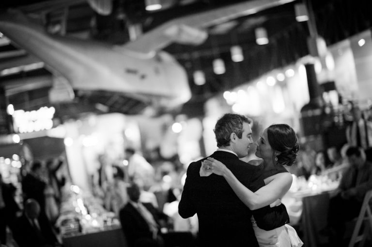 Lisa & Matt | Baltimore Museum of Industry Wedding captured by Ben Lau Photography