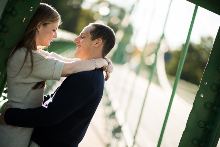 Keriann and John's engagement session on NJ's wine trail, captured by Ben Lau Photography.