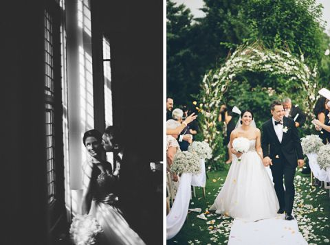 Wedding day at the Castle on the Hudson. Captured by NYC wedding photographer Ben Lau.