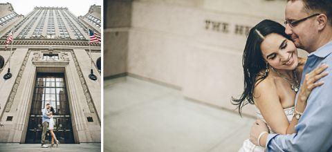 NYC Engagement session. Captured by NYC wedding photographer Ben Lau.