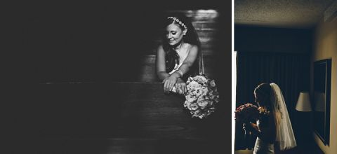 Bride's portraits on the morning of her wedding day at the Indian Trail Club in Franklin Lakes, NJ. Captured by Northern NJ wedding photographer Ben Lau.
