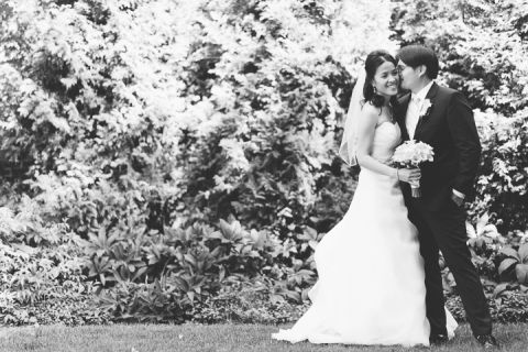 Tappan Hill Mansion wedding photos in Tarrytown, NY. Captured by NYC wedding photographer Ben Lau.