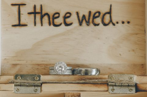 Wedding ring shots at the Bungalow Hotel in Long Branch, NJ. Captured by NYC wedding photographer Ben Lau.