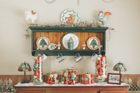 Home decor. Captured by Northern NJ wedding photographer Ben Lau.