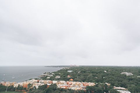 View from the Sonesta Bayfront Hotel in Coconut Grove, Miami. Captured by Miami wedding photographer Ben Lau.