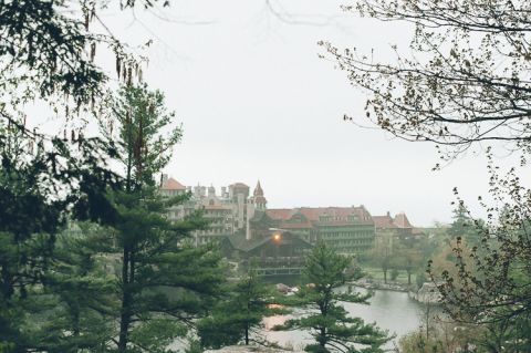 Engagement session at the Mohonk Mountain House in NY. Captured by NJ wedding photographer Ben Lau.