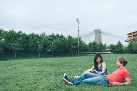 DUMBO & Chelsea Engagement Session | Ben Lau Photography