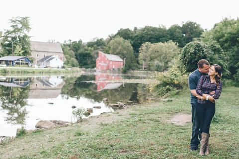 Central Jersey Engagement Session. Captured by Central Jersey Wedding Photographer Ben Lau.
