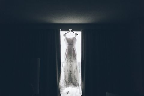 Prep on the morning Sonya & Godly's wedding at Lucien's Manor in Berlin, NJ. Captured by NJ wedding photographer Ben Lau.