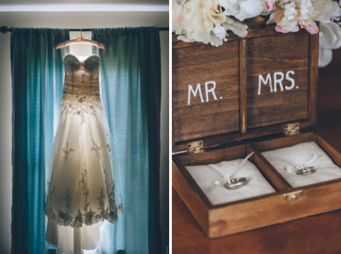 Wedding details on the morning of a Evergreen Country Club Wedding in Northern Virginia. Captured by NYC wedding photographer Ben Lau.