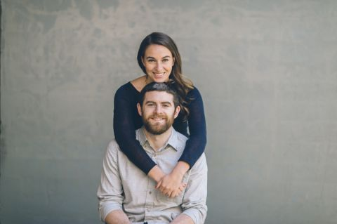 NYC engagement session in the Flat Iron District and Meatpacking District. Captured by NYC wedding photographer Ben Lau.