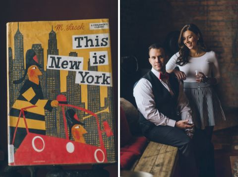 Brooklyn engagement session at a winery and an abandoned airfield. Captured by NYC wedding photographer Ben Lau.