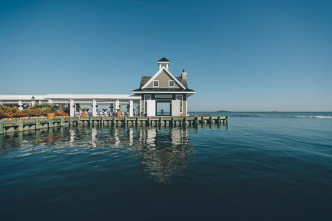 Mallard Island Yacht Club wedding. Captured by NJ wedding photographer Ben Lau.
