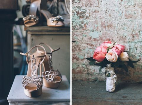 Wedding details for a Metropolitan Building Wedding in Long Island City, NY. Captured by NYC wedding photographer Ben Lau.