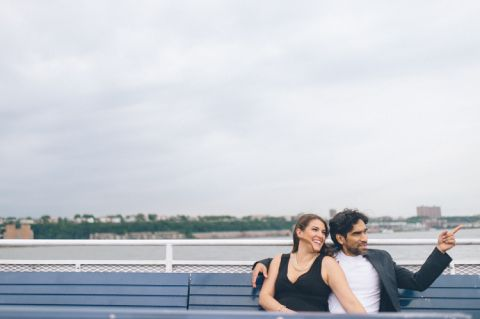 Hoboken engagement session captured by Northern Jersey Wedding photographer Ben Lau.