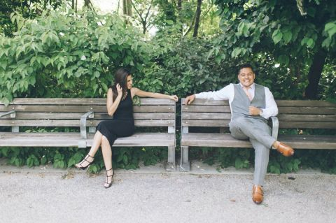 Brooklyn Engagement session in DUMBO and Coney Island, captured by Brooklyn wedding photographer Ben Lau.