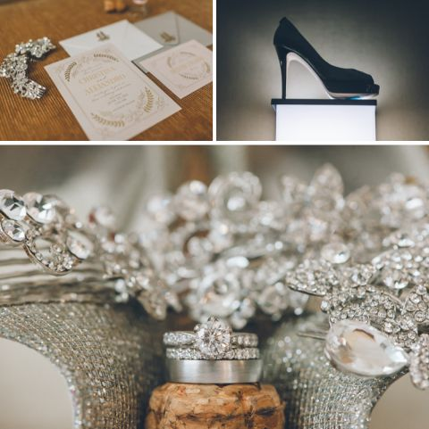 Wedding details for a Westbury Manor wedding in Westbury, NY. Captured by Long Island Wedding Photographer Ben Lau.