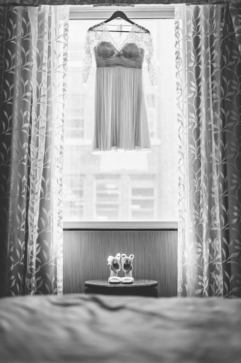 Susan & Andy's small, intimate Brooklyn wedding at Ici Restaurant, captured by Brooklyn wedding photographer Ben Lau.