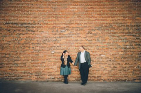 Brooklyn engagement session in DUMBO and Bay Ridge, captured by NYC wedding photographer Ben Lau.