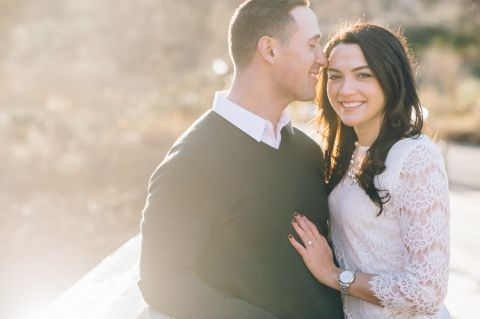 Central Park engagement session in NYC, captured by NYC wedding photographer Ben Lau.