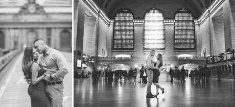 NYC engagement session captured by NYC wedding photographer Ben Lau.