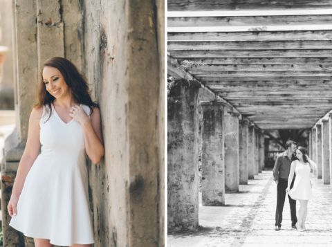 Miami engagement session in Coral Gables, captured by NJ wedding photographer Ben Lau.