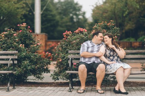 Hoboken engagement session with NJ wedding photographer Ben Lau.