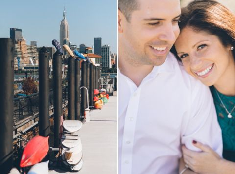Hoboken engagement session captured by fun NJ wedding photographer Ben Lau.