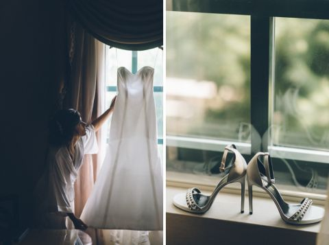 Il Bacco Wedding in Little Neck, NY - captured by NYC photojournalistic wedding photographer Ben Lau.