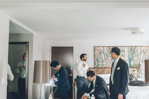 Robi & Rebecca's Martime Parc wedding in Jersey City, captured by photo documentary North Jersey wedding photographer Ben Lau.