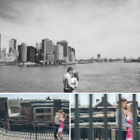 Governor's Island engagement session in NYC, captured by NYC wedding photographer Ben Lau.