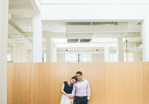 Washington DC engagement session captured by North Jersey wedding photographer Ben Lau.