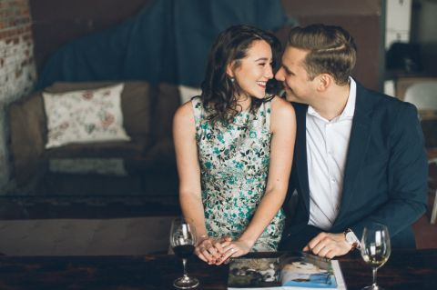 Brooklyn engagement session in Red Hook & Prospect Park, captured by photojournalistic NYC wedding photographer Ben Lau.