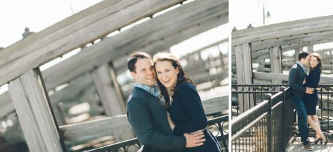 Jersey City engagement session at Liberty State Park, captured by Jersey City wedding photographer Ben Lau.
