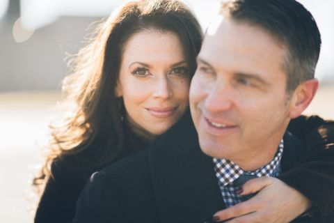 Hoboken engagement session captured by natural, photojournalistic North Jersey wedding photographer Ben Lau.