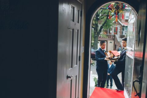 Terrace on the Park wedding in Queens, NY, captured by classic NYC wedding photographer Ben Lau.