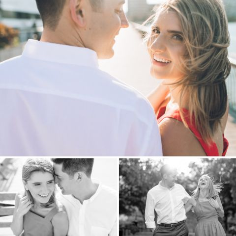 Hoboken engagement session captured by photojournalistic North Jersey wedding photographer Ben Lau.