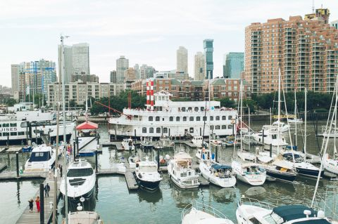 Maritime Parc wedding in Jersey City, captured by photojournalistic North Jersey wedding photographer Ben Lau.
