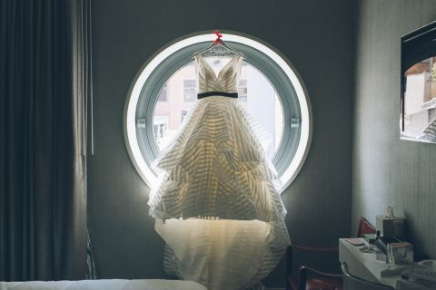 Wedding at the Glasshouses in NYC, captured by photojournalistic NYC wedding photographer Ben Lau.