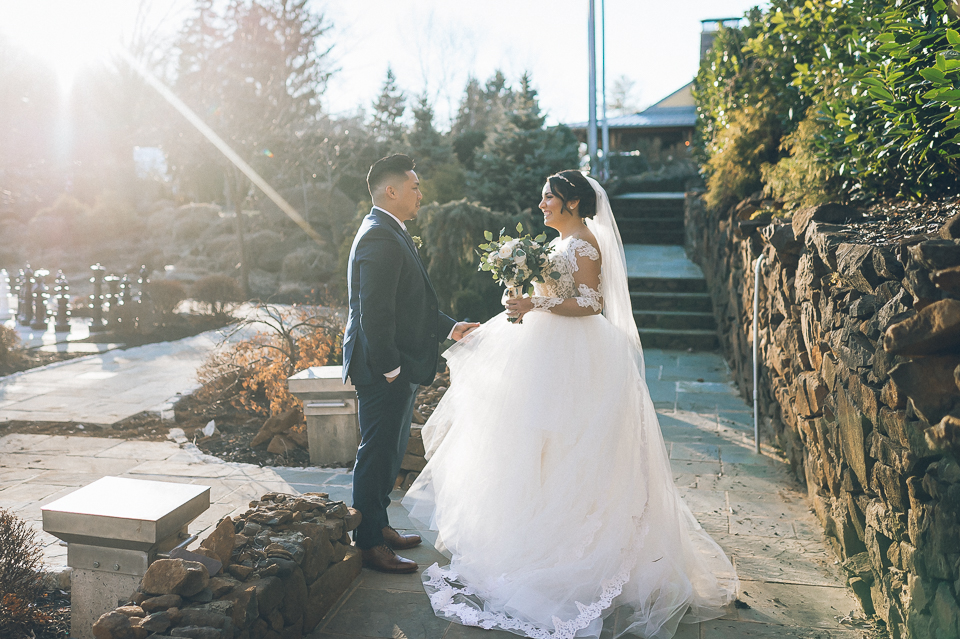 The Lodge at the Stone House in Stirling Ridge Wedding, captured by photojournalistic NJ wedding photographer Ben  Lau.