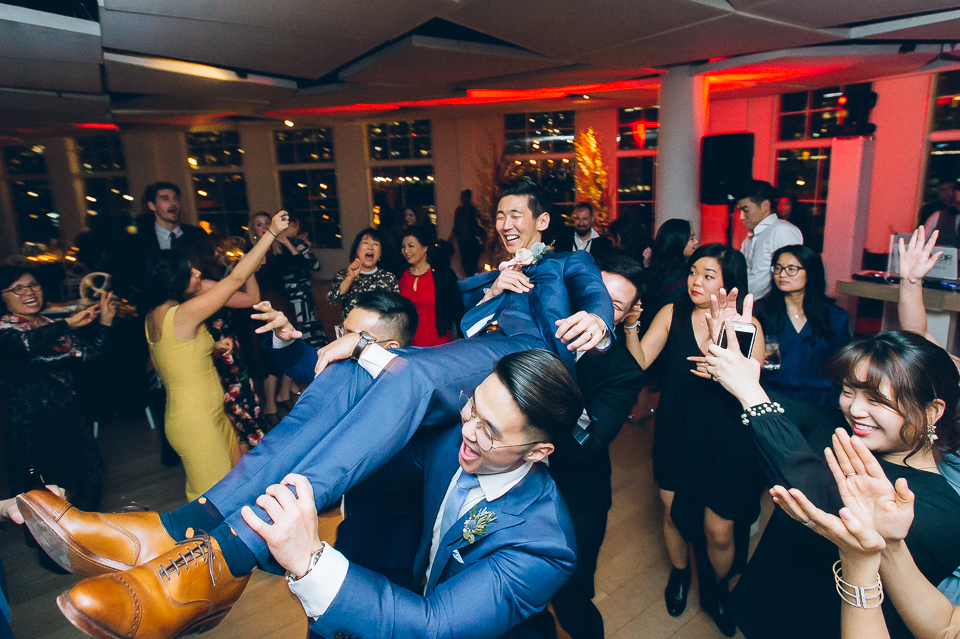 Martime Parc wedding in Jersey City, captured by North Jersey photojournalistic wedding photographer Ben Lau.