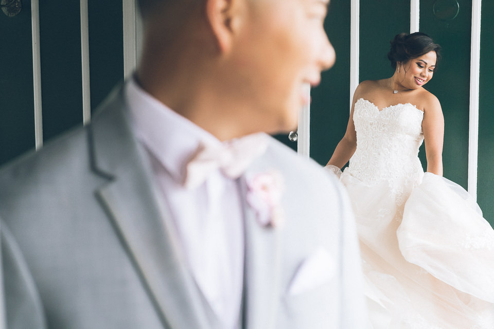 Madison Hotel wedding in North Jersey, captured by photojournalistic NJ wedding photographer Ben Lau.