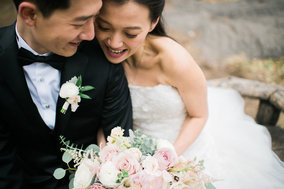 Essex House Wedding in NYC captured by fun, candid and photo journalistic wedding photographer Ben Lau.