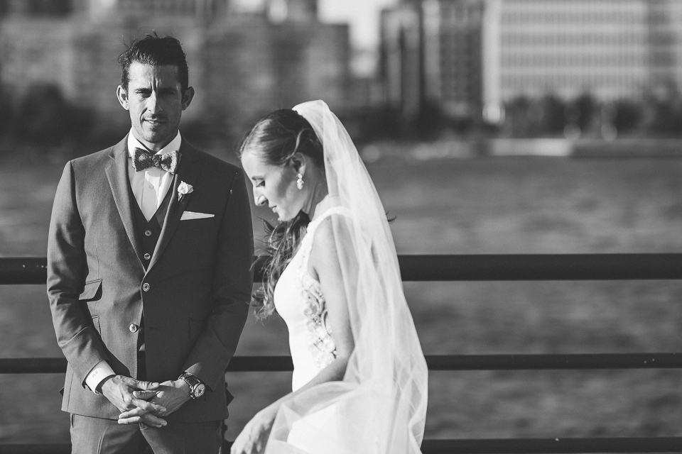 Liberty House wedding in Jersey City, NJ - captured by candid, photo-documentary NJ wedding photographer Ben Lau.