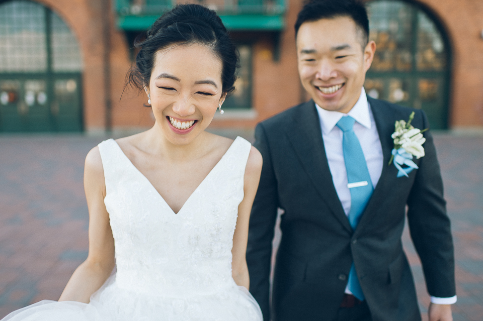 Maritime Parc wedding in Jersey City, NJ - captured by fun, candid, photojournalistic wedding NJ wedding photographer Ben Lau.